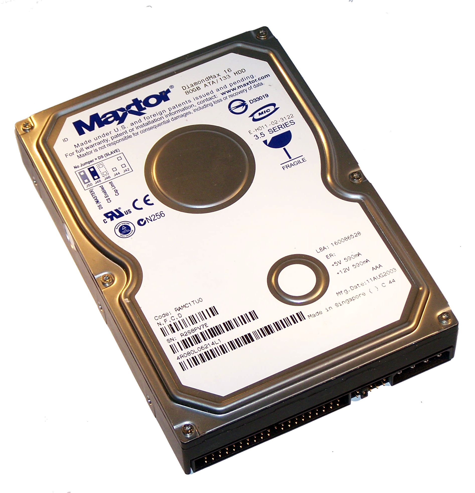 MAXTOR 133 CONTROLLER WINDOWS 7 DRIVER